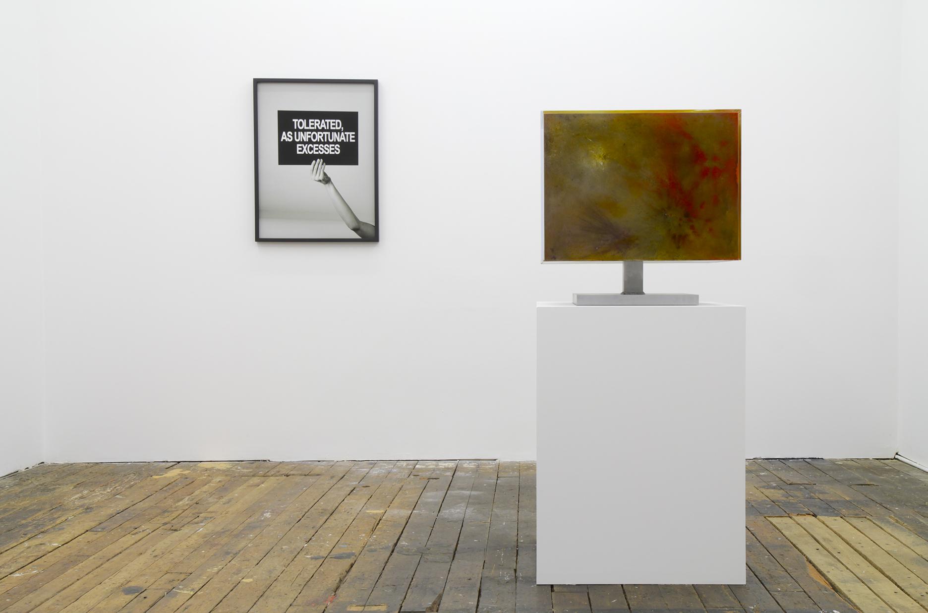 installation view of modern ensembles by geof oppenheimer 2010